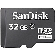 Sandisk Memory Card - 32GB - Black