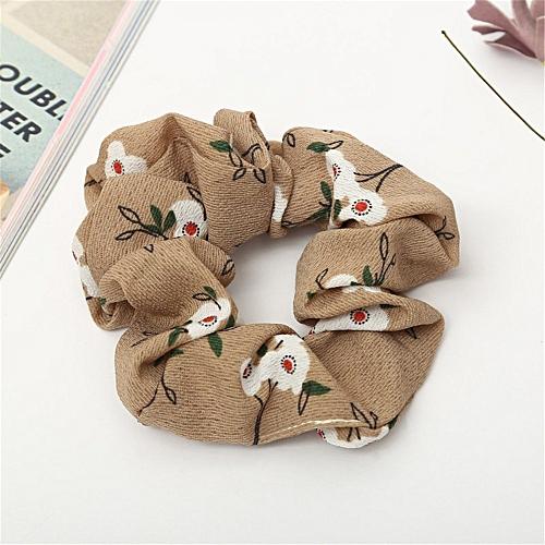 Generic Women Elastic Hair Rope Ring Tie Scrunchie Ponytail Holder Hair  Band Headband 666d532c46db