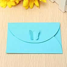 5 Pcs Retro Butterfly Small Colored Pearl Blank Mini Paper Envelopes Wedding Party Invitation Envelope DIY Gilt Envelope