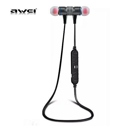 Buy Awei Smart Wireless Bluetooth Sports Stereo Earphone