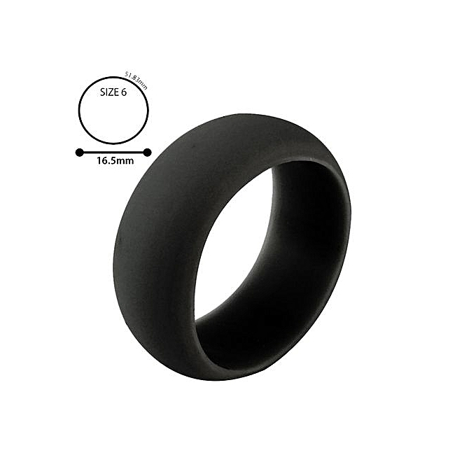 Buy Generic 1pc Silicone Wedding Band Engagement Ring Hypoallergenic