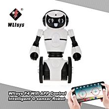 F4 0.3MP Camera Wifi FPV APP Control Intelligent G-sensor Robot Super Carrier RC Toy Gift for Children Kids Entertainment