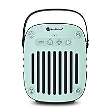 NR - 4014 Portable Wireless Bluetooth Stereo Speaker Mini Player-LIGHT AQUAMARINE
