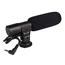 New Style Bellamall: Professional Camera Accessories On-Camera Video Shotgun Stereo Recording Microphone Mic For DSLR Camera
