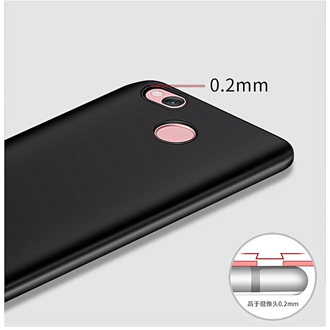 For Redmi 4X Soft Silicone Phone Case With Ring Holder/ Sweatproof Fingerprint .