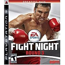PS3 Game Fight Night Round 3