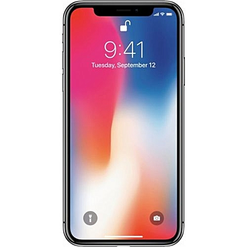 IPhone X 5.8-Inch HD (3GB,64GB ROM) IOS 11, 12MP + 7MP 4G Smartphone - Space Grey - Grey