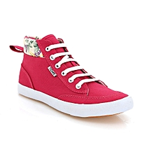 Red Ladies' Tomy Takkies