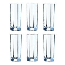 Luminarc Octime Tumbler Set Drinking Glass - Set of 6.