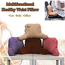 Silkworm Faeces Protect Waist Cushion Home Sofa Office Car Chair Soft Pillow