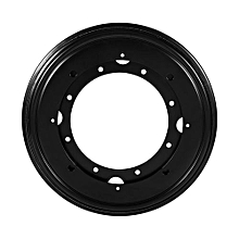 "Round Turntable Bearing Rotating Swivel Plate (9"" Black)"