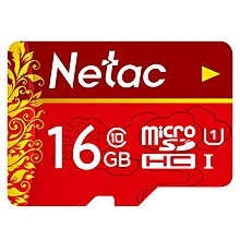 Netac P500 Micro SD Card UHS-1 Class 10 80MB/s 16GB - RED