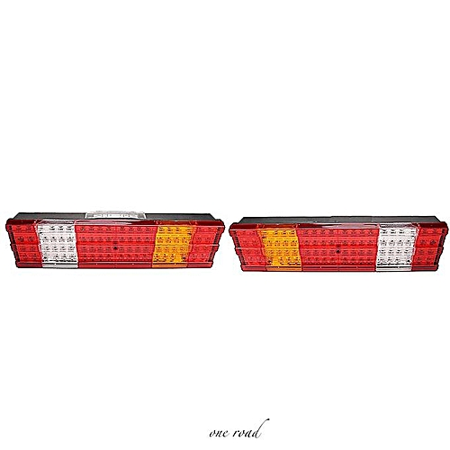 1 Pair Led Rear Tail Lights Truck For Scania Volvo Daf Man Iveco