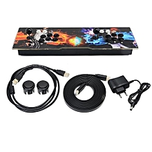 1099 Games In 1 Video Fight Games Family Box Home Arcade Console HD Home Game Machine With Dual Joystick With Flame Pattern