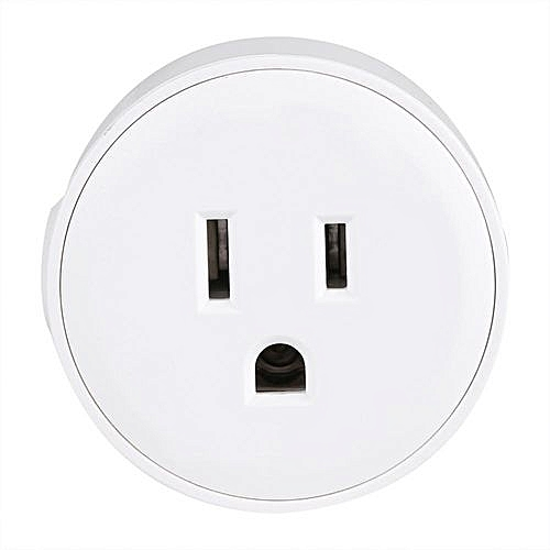 Mini WiFi Wireless Switch Outlet Smart Power Socket Timer Remote & Voice  Control US Plug