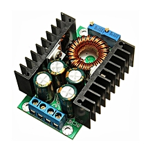 Solar Panel Adjustable Constant Voltage Current LED Driver Power Supply Module Black