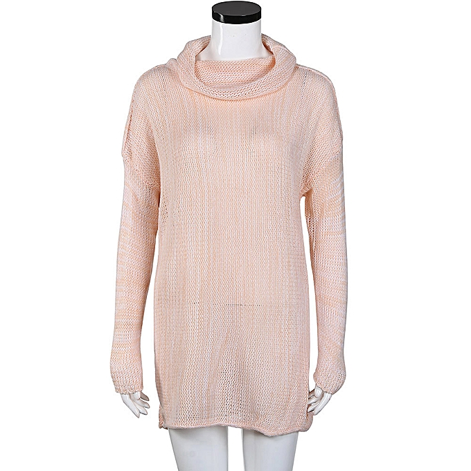 e0ef4641641fb7 ... Hiamok Women Loose Long Sleeve Fall Winter Oversize Sweater Jumper  Shirt Tops PK M ...