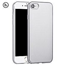 Lightweight Series Protective TPU Back Cover For IPhone 7 - Silver