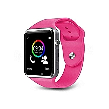 A1 Bluetooth Smart Watch Pink