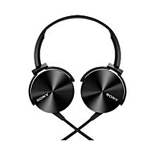 SONY Extra BASS Headphones - Black
