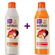 Au Naturale Conditioner + Shampoo- 250ml.
