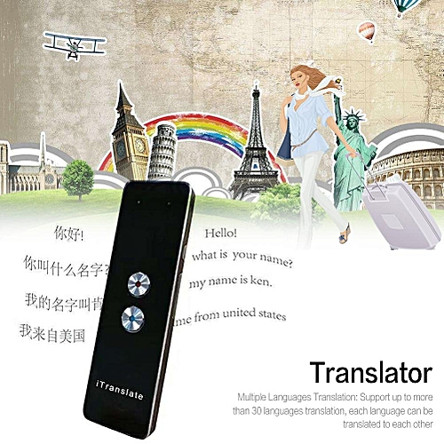 Shzons T8 Smart Voice Translator Two-Way Real Time Multi-Language  Translation For Learning Travelling Meeting Voice Recorder SANNI
