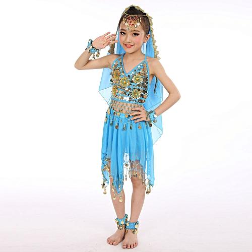Anniversary Sales Buy Muyi Handmade Children Girl Belly Dance Costumes