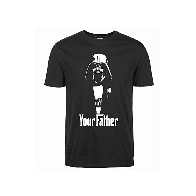 64beb0d4 High Quality Cool Star Wars Your Father T-Shirt Men Funny Darth Vader Shirt
