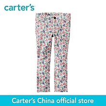 Multi Carter's 1pcs Baby Children Kids Floral French Terry Jeggings 258g277