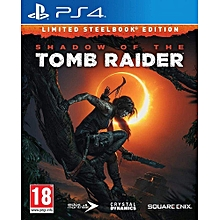 PS4 Game Shadow Of The Tomb Raider Steel Book Edition
