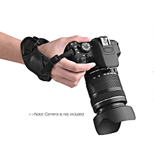 Leather Camera Padded Wrist Grip Strap Camera Accessory for Nikon/ Sony/ Olympus Pentax/ Fujifilm/ DSLR