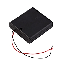 Battery Cover Box Plastic Holder with ON/OFF Switch for 4 x AA Batteries