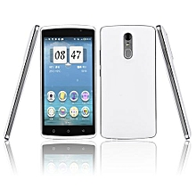 Android 5.1.1 MTK6580 Quad Core 1.2MHZ Smartphone 9X Double Card Double Stay-white