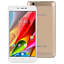 AMIGOO X15 3G Phablet Android 6.0 5.5 inch MTK6580 Quad Core 1.3GHz 1GB RAM 8GB ROM Dual Cameras 4000mAh Battery-CHAMPAGNE