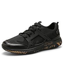 Men's KoreanCasual Sport Running Shoes - Black