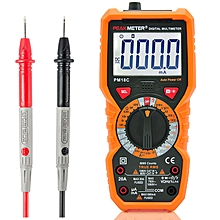 PEAKMETER PM18C Digital Multimeter Voltage Current Resistance Capacitance Frequency Temperature Test