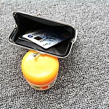 bluerdream-Women Girls Cute Fashion Snacks Coin Purse Wallet Bag Change Pouch Key Holder C-White