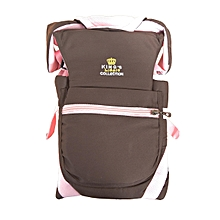 Baby Carrier - Pink & Brown