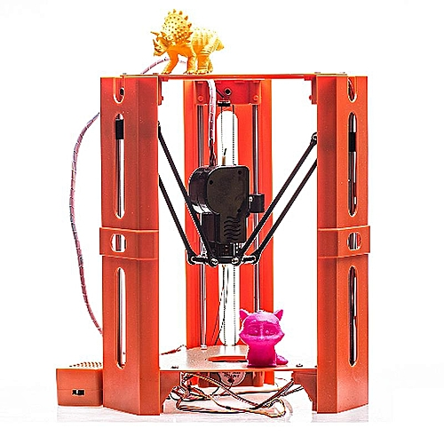DIY Assembled X1 3D Printer Big Size Aluminium Frame High Precision 3D  Printing