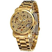 Gold Automatic Self-wind Mens' Wrist Watch