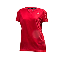 T/Shirt Rs Ss Tee Wmn- Ax6579red- M