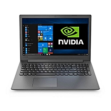 "Ideapad 130 -15.6""- Intel Core i3 - 1TB HDD-4gb Ram- Nvidia 2gb Graphics - No OS Installed- Black"