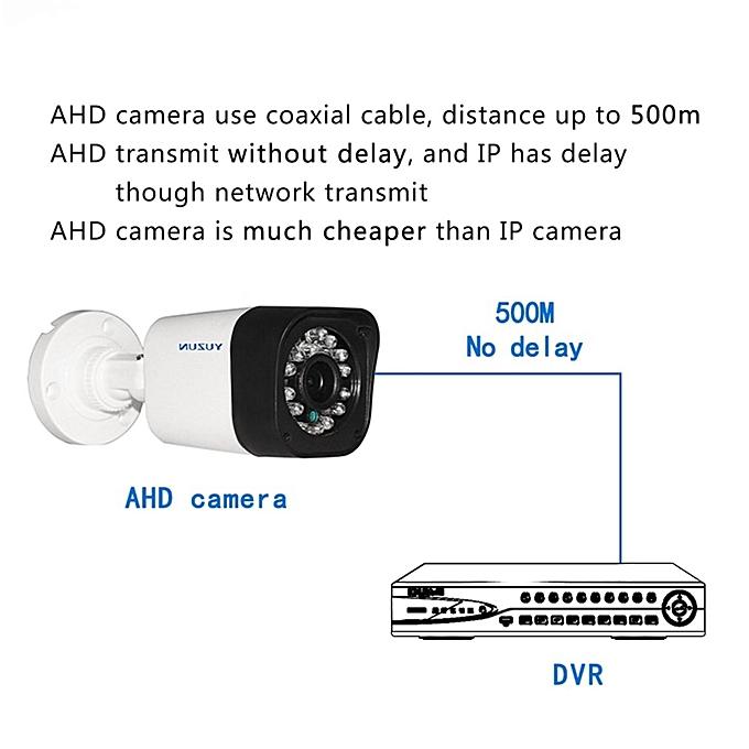 OR YUZUN 720P 960P 1080P IP Camera Network Infrared Webcam-white-UK plug