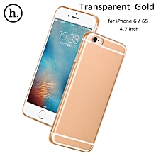 HOCO TPU Soft Case Cover Crystal Clear Transparent Ultra Slim Shell for 4.7 inch iPhone 6 6S