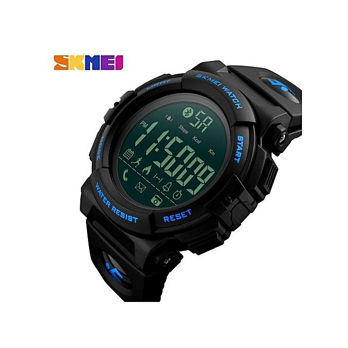 0055717386d ... SKMEI Men Sports Smart Watches 50M Waterproof Pedometer Calories  Bluetooth Remote Camera Watches Relogio Masculino 1303