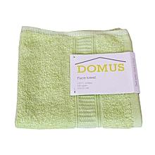 Face Towel - 400 GSM - 33cm x 33cm - Lime Green