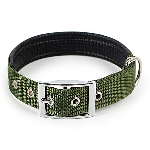 Dog Collar Adjustable Neck Strap For Large Medium Small Pet Dog Pure Color