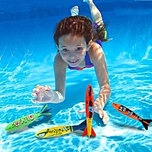 4pcs Swimming Pool Toys Mine Shape Diving Toys Underwater Fun For Swimming Training