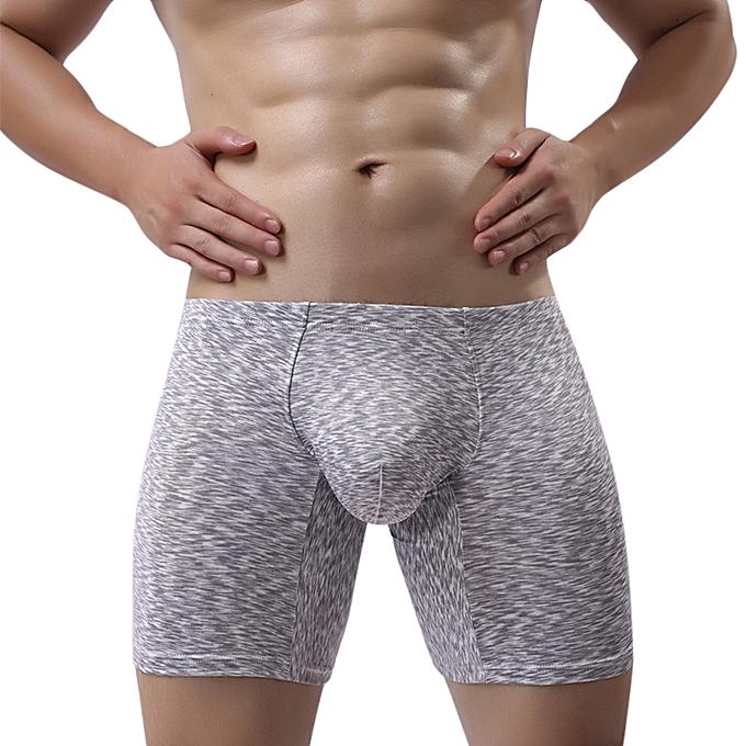 Fashion Mens U Convex Wear-resistant Leisure Sports Fashion Boxers ... 30ab55436e7