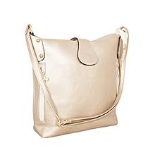 Gold Bucket Style Handbag